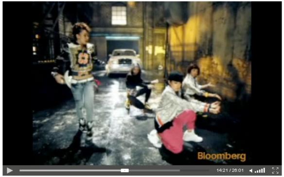 2NE1 on Bloomberg